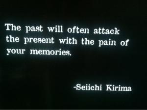 pain of memories