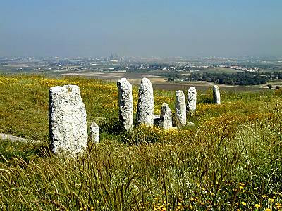 Tel Gezer | Source: ourrabbijesus.com. Image links to source.