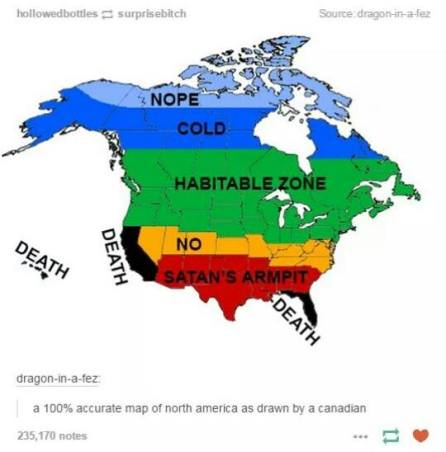 canadian geography