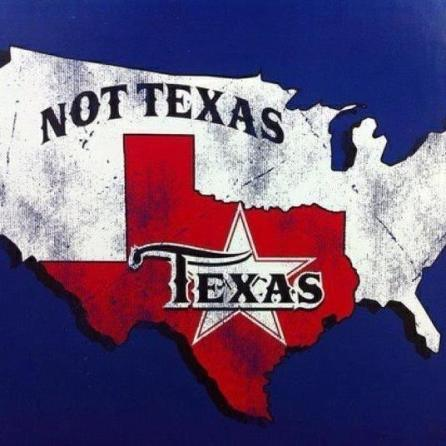not texas and texas