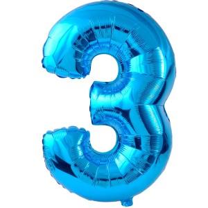 three balloon