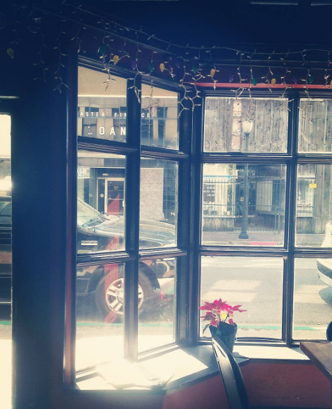 downtown window